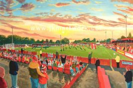 north street on matchday print